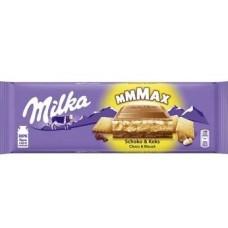 Большая Милка - Milka choco & biscuits 300 г