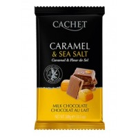 Бельгийский шоколад Cachet  Caramel & Sea salt