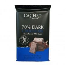 Шоколад Cachet Extra dark chocolate 70% Cacao