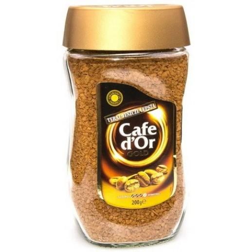 Cafe d'or gold кофе растворимый
