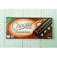Шоколад Choceur Feinherb Nuss 200г
