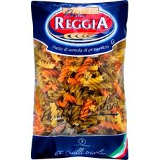 Макароны Pasta Reggia 65 Fusilli Tricolori - Веретено Триколор