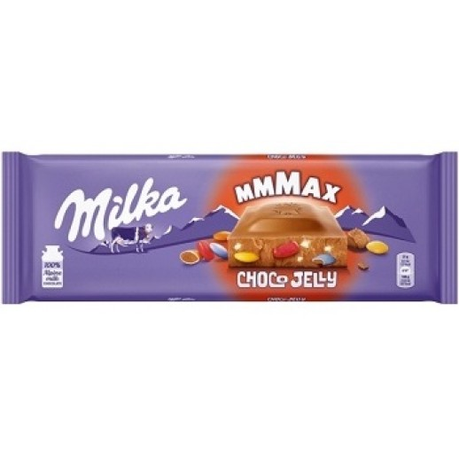 Milka Choco Jelly  молочный шоколад с мармеладом и карамелью