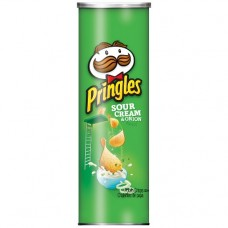 Чипсы Pringles Sour Cream & Onion Potato Crisps