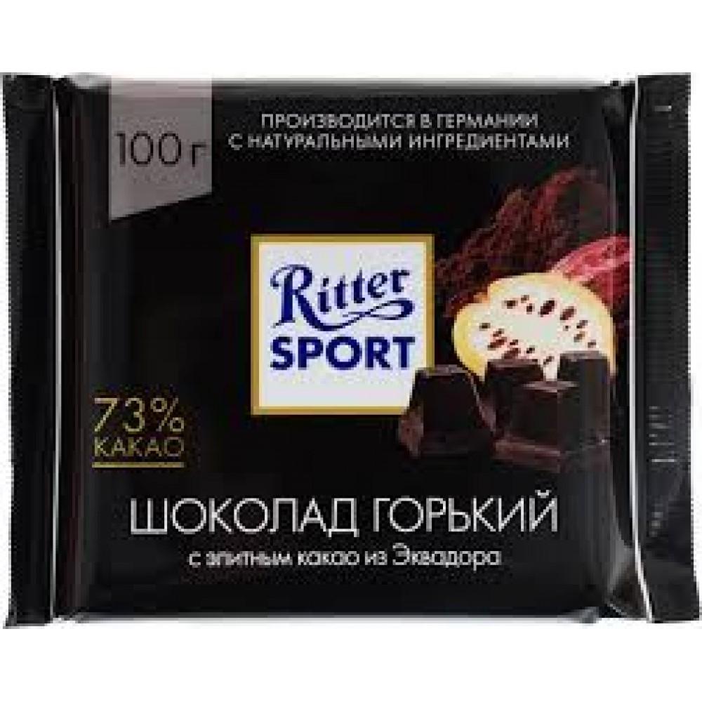 Ritter Sport Шоколад горький Элитный 73% какао