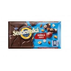 Шоколад черный Studentska с изюмом и арахисом