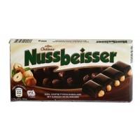 Шоколад Nussbeisser черный