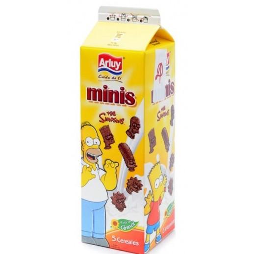 Arluy Minis Симпсон Зерновые Бисквиты с шоколадным вкусом