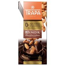 TRAPA INTENSO 80% DARK CHOCOLATE без сахара