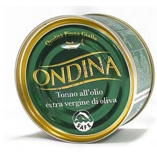 Тунец в оливковом масле