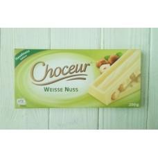 Шоколад Choceur Weisse Nuss 200г